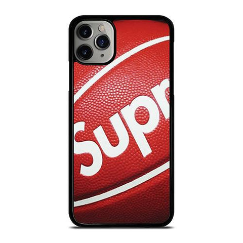 SUPREME LOGO BASKETBALL iPhone 11 Pro Max Case Cover
