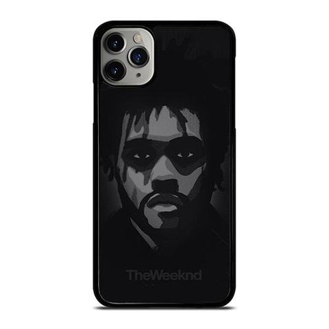 THE WEEKND FACE WHITE BLACK iPhone 11 Pro Max Case Cover