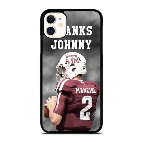 Texas A&M THANKS JOHNNY-iphone-11-case-cover