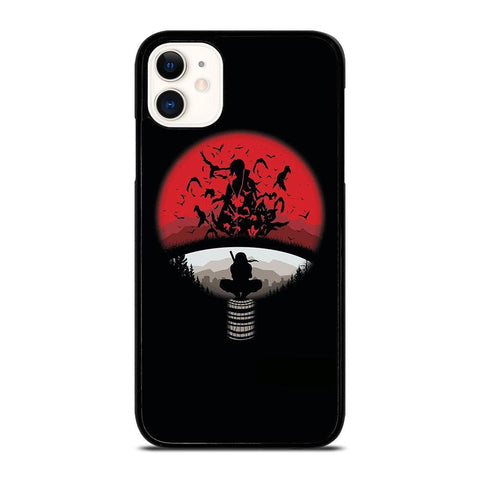 UCHIHA CLAN LOGO-iphone-11-case-cover
