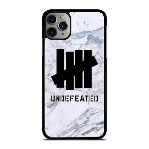 UNDEFEATED MARBLE LOGO-iphone-11-pro-max-case-cover