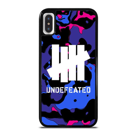 UNDEFEATED CAMO LOGO iPhone X / XS Case Cover