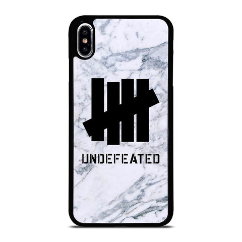 UNDEFEATED MARBLE LOGO iPhone XS Max Case Cover