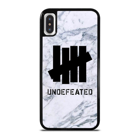 UNDEFEATED MARBLE LOGO iPhone X / XS Case Cover