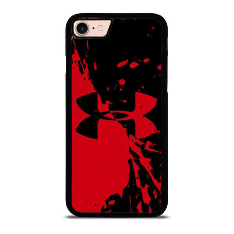 UNDER ARMOUR LOGO RED BLACK-iphone-8-case-cover