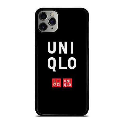 UNIQLO LOGO BLACK 2 iPhone 11 Pro Max Case Cover