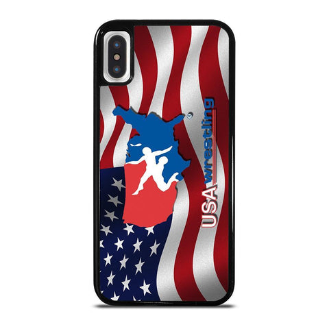 USA WRESTLING iPhone X / XS Case Cover