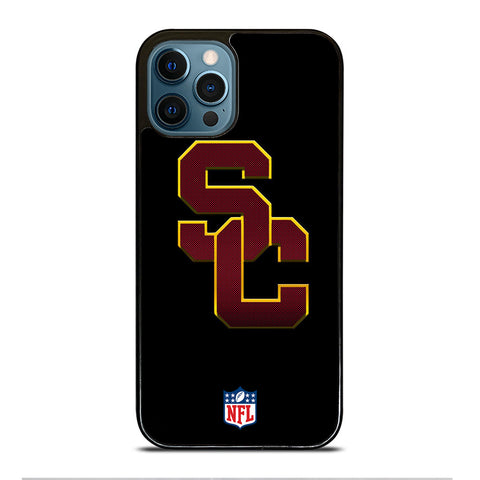 USC TROJANS LOGO NFL iPhone 12 Pro Max Case Cover