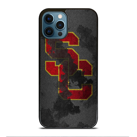 USC TROJANS RUSTY NFL iPhone 12 Pro Max Case Cover