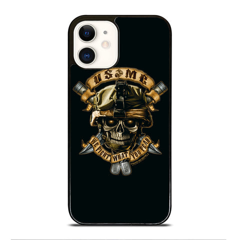 US MARINE CORPS USMC iPhone 12 Case Cover