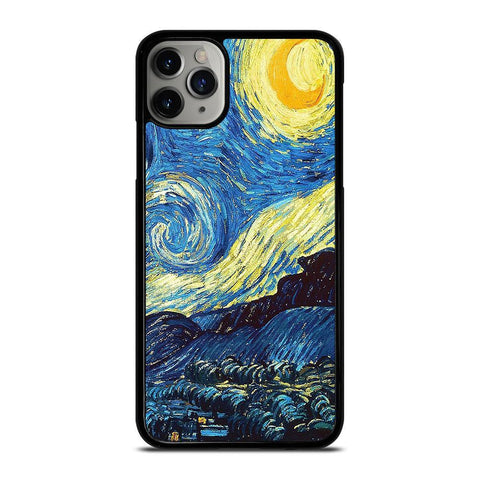 VAN GOGH STARRY NIGHT-iphone-11-pro-max-case-cover