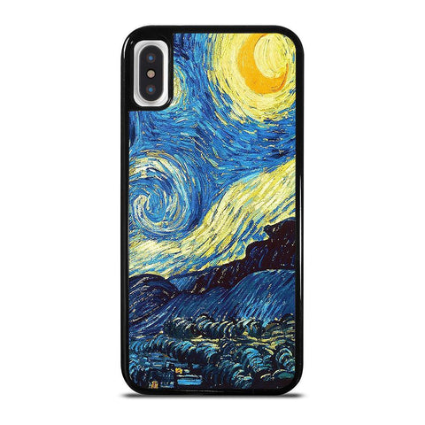 VAN GOGH STARRY NIGHT iPhone X / XS Case Cover