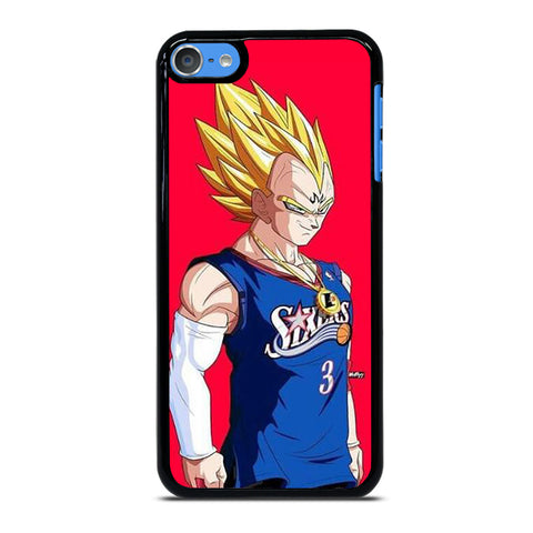 VEGETA DRAGON BALL PHILADELPHIA SIXERS iPod Touch 7 Case Cover