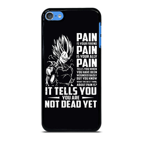 VEGETA QUOTE DRAGON BALL 2 iPod Touch 7 Case Cover
