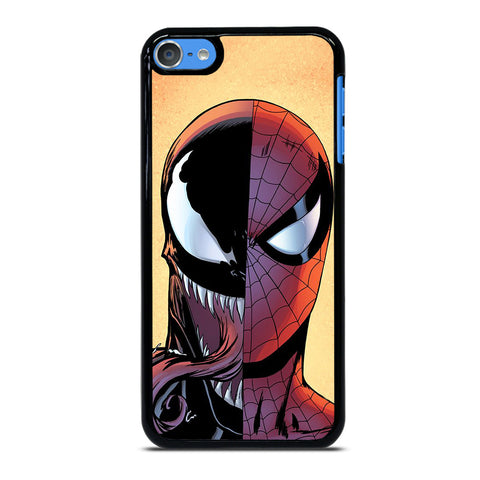 VENOM VS SPIDERMAN FACE iPod Touch 7 Case Cover