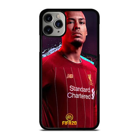 VIRGIL VAN DIJK LIVERPOOL FIFA 2020 iPhone 11 Pro Max Case Cover