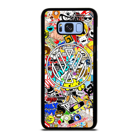 VW STICKER BOMB Samsung Galaxy S8 Plus Case Cover