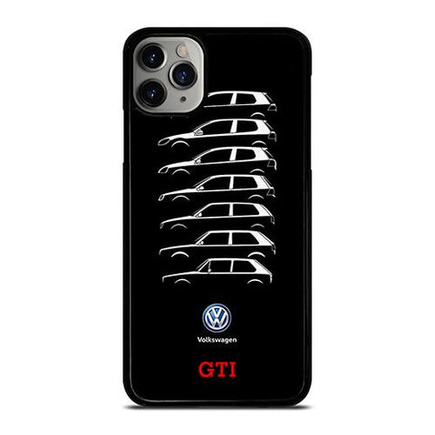 VW VOLKSWAGEN GOLF GTI EVOLUTION iPhone 11 Pro Max Case Cover
