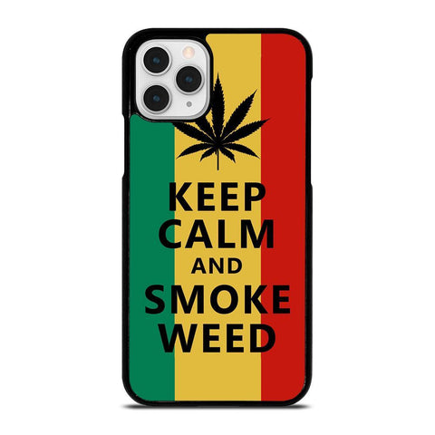 WEED MARIJUANA QUOTES-iphone-11-pro-case-cover