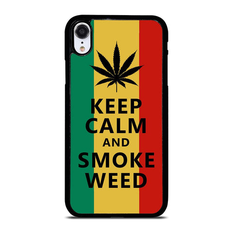 WEED MARIJUANA QUOTES iPhone XR Case Cover