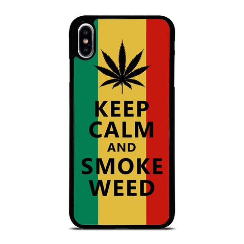 WEED MARIJUANA QUOTES iPhone XS Max Case Cover