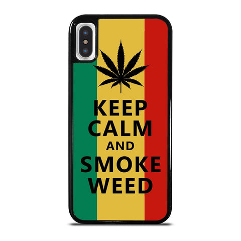 WEED MARIJUANA QUOTES iPhone X / XS Case Cover
