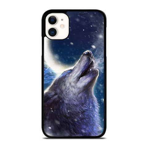 WILD WOLF-iphone-11-case-cover