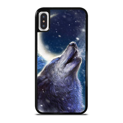 WILD WOLF iPhone X / XS Case Cover