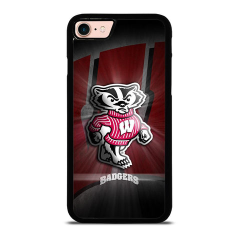 WISCONSIN BADGER LOGO iPhone 8 Case Cover