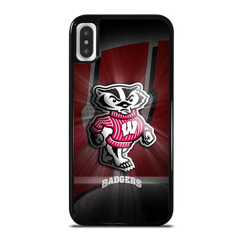 WISCONSIN BADGER LOGO iPhone X / XS Case Cover