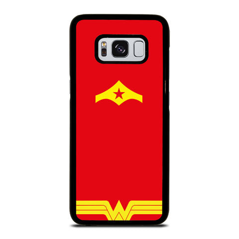 WONDER WOMAN ART ICON Samsung Galaxy S8 Case Cover