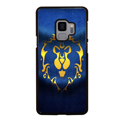 WORLD OF WARCRAFT ALLIANCE WOW FLAGE Samsung Galaxy S9 Case Cover