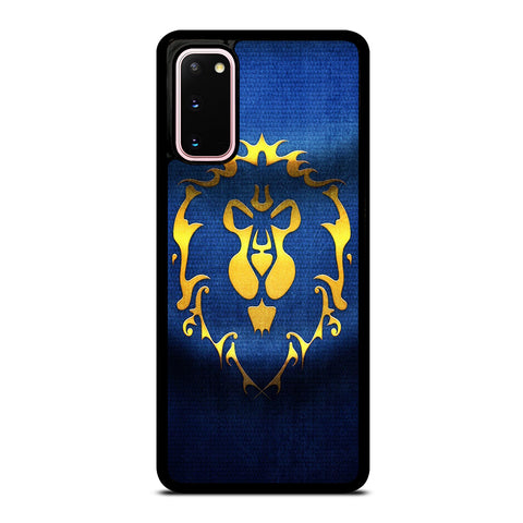 WORLD OF WARCRAFT ALLIANCE WOW FLAGE Samsung Galaxy S20 Case Cover