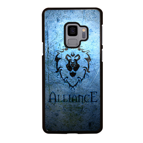 WORLD OF WARCRAFT ALLIANCE WOW Samsung Galaxy S9 Case Cover