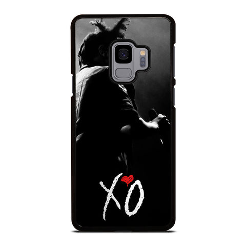 XO THE WEEKND LOGO BLACK WHITE Samsung Galaxy S9 Case Cover