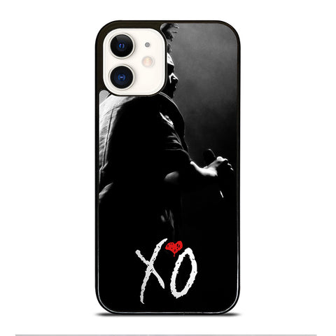 XO THE WEEKND LOGO BLACK WHITE iPhone 12 Case Cover