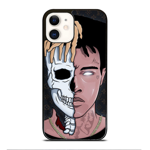 XXXTENTACION SKUL FACE iPhone 12 Case Cover