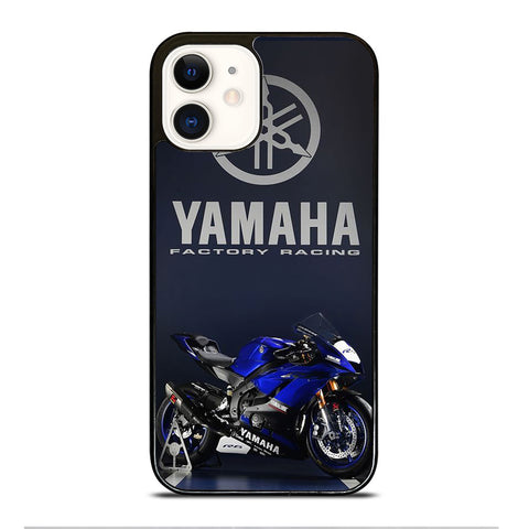 YAMAHA LOGO MOTOR RACING iPhone 12 Case Cover