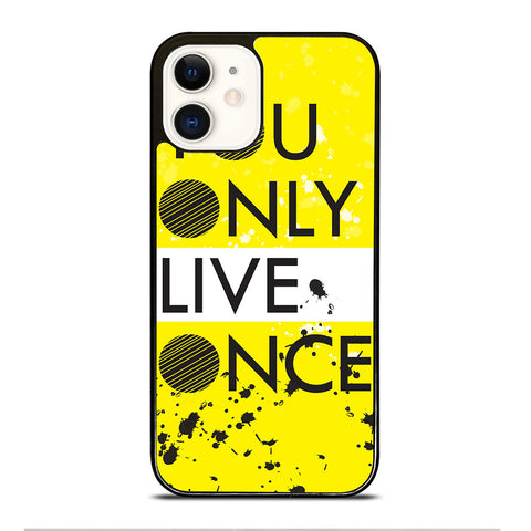 YOLO iPhone 12 Case Cover