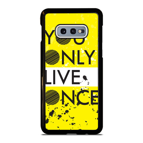 YOLO Samsung Galaxy S10e Case Cover