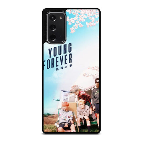 YOUNG FOREVER BANGTAN BOYS Samsung Galaxy Note 20 Case Cover