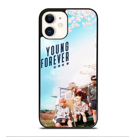 YOUNG FOREVER BANGTAN BOYS iPhone 12 Case Cover