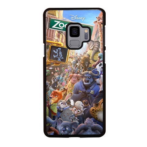 ZOOTOPIA CHARACTERS Disney Samsung Galaxy S9 Case Cover