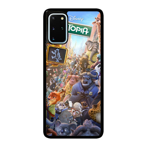 ZOOTOPIA CHARACTERS Disney Samsung Galaxy S20 Plus Case Cover