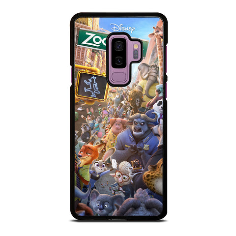 ZOOTOPIA CHARACTERS Disney Samsung Galaxy S9 Plus Case Cover