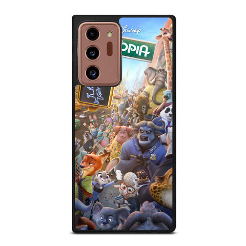 ZOOTOPIA CHARACTERS Disney Samsung Galaxy Note 20 Ultra Case Cover