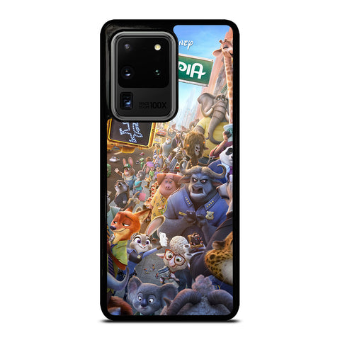 ZOOTOPIA CHARACTERS Disney Samsung Galaxy S20 Ultra Case Cover
