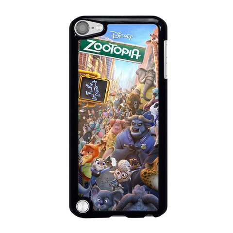 ZOOTOPIA CHARACTERS Disney iPod Touch 5 Case Cover