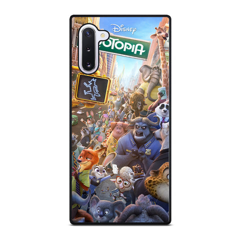 ZOOTOPIA CHARACTERS Disney Samsung Galaxy Note 10 Case Cover
