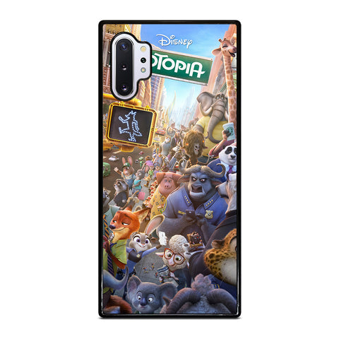 ZOOTOPIA CHARACTERS Disney Samsung Galaxy Note 10 Plus Case Cover